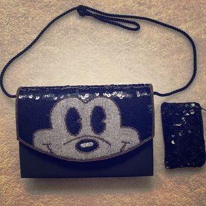 Vintage Disney's Mickey crossbody/purse/clutch